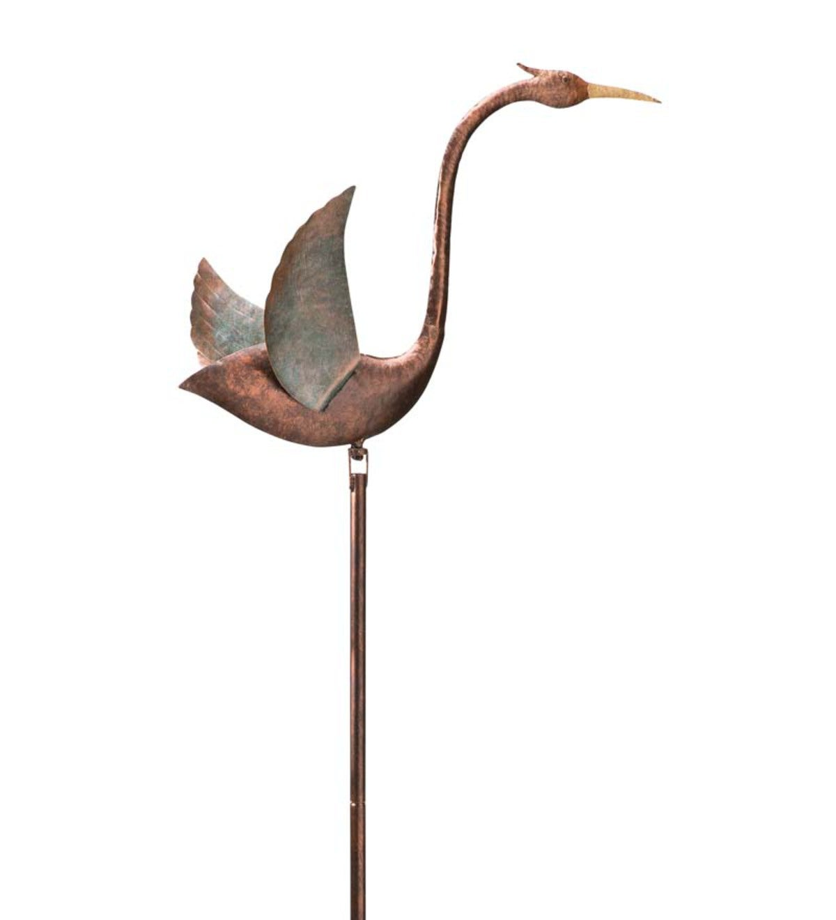 Handcrafted Metal Crane Balancer - Copper