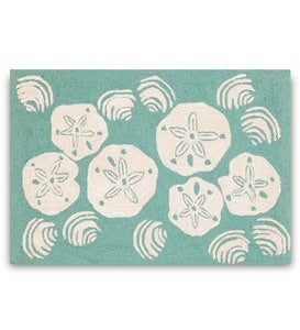 Shell Toss Indoor/Outdoor Accent Rugs