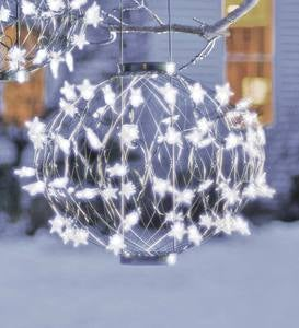 Solar-Powered Small Lighted Starball