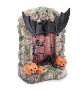 Spooky Halloween Bat Fairy Door