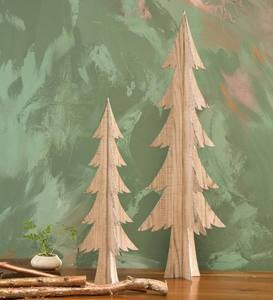 Wooden Tabletop Tree