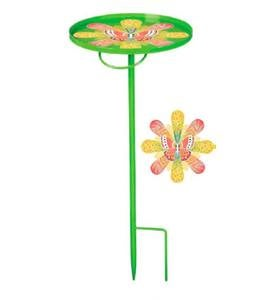 Green Portable Garden Stake Table