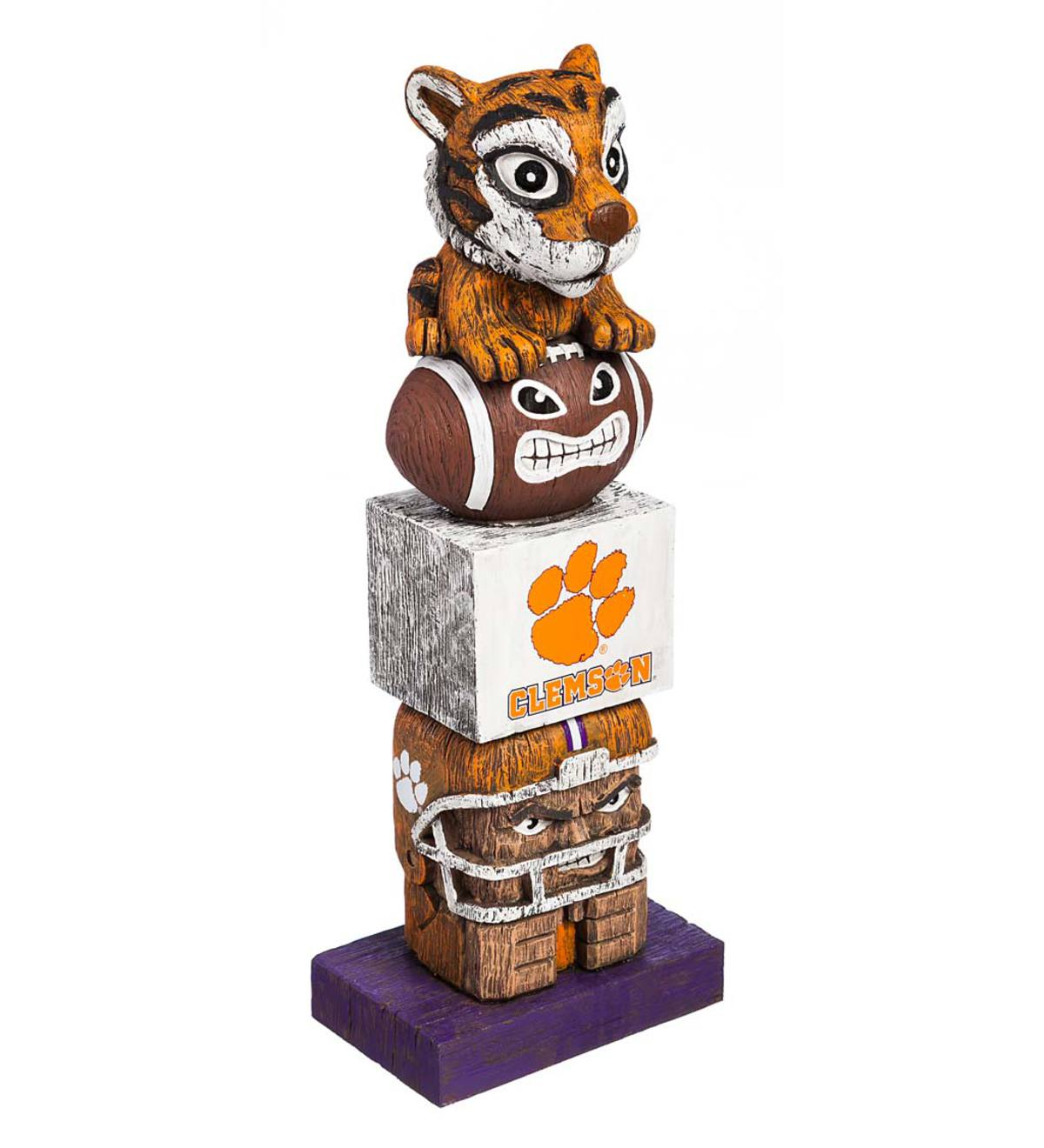 College Football Fan Totem Pole - Clemson University
