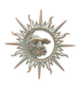 Aluminum Sunburst Wall Decor