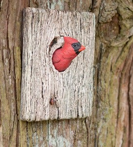 Handcrafted Cardinal Wall Hanging