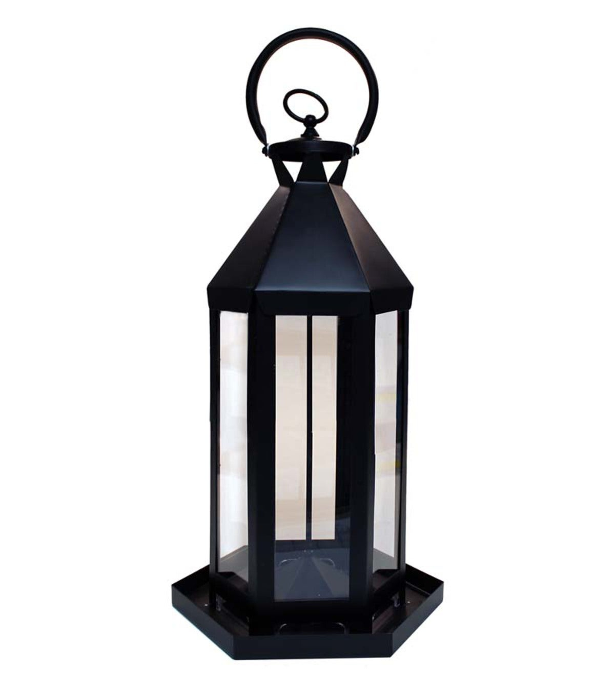 Metal Williamsburg Lantern Bird Feeder