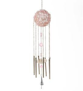 Pink Wire Ball Chime