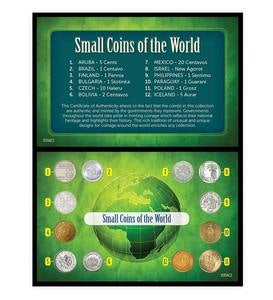 Small Coins of the World 12-Piece Collector's Set