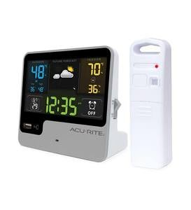 Alarm Clock with Weather Forecaster