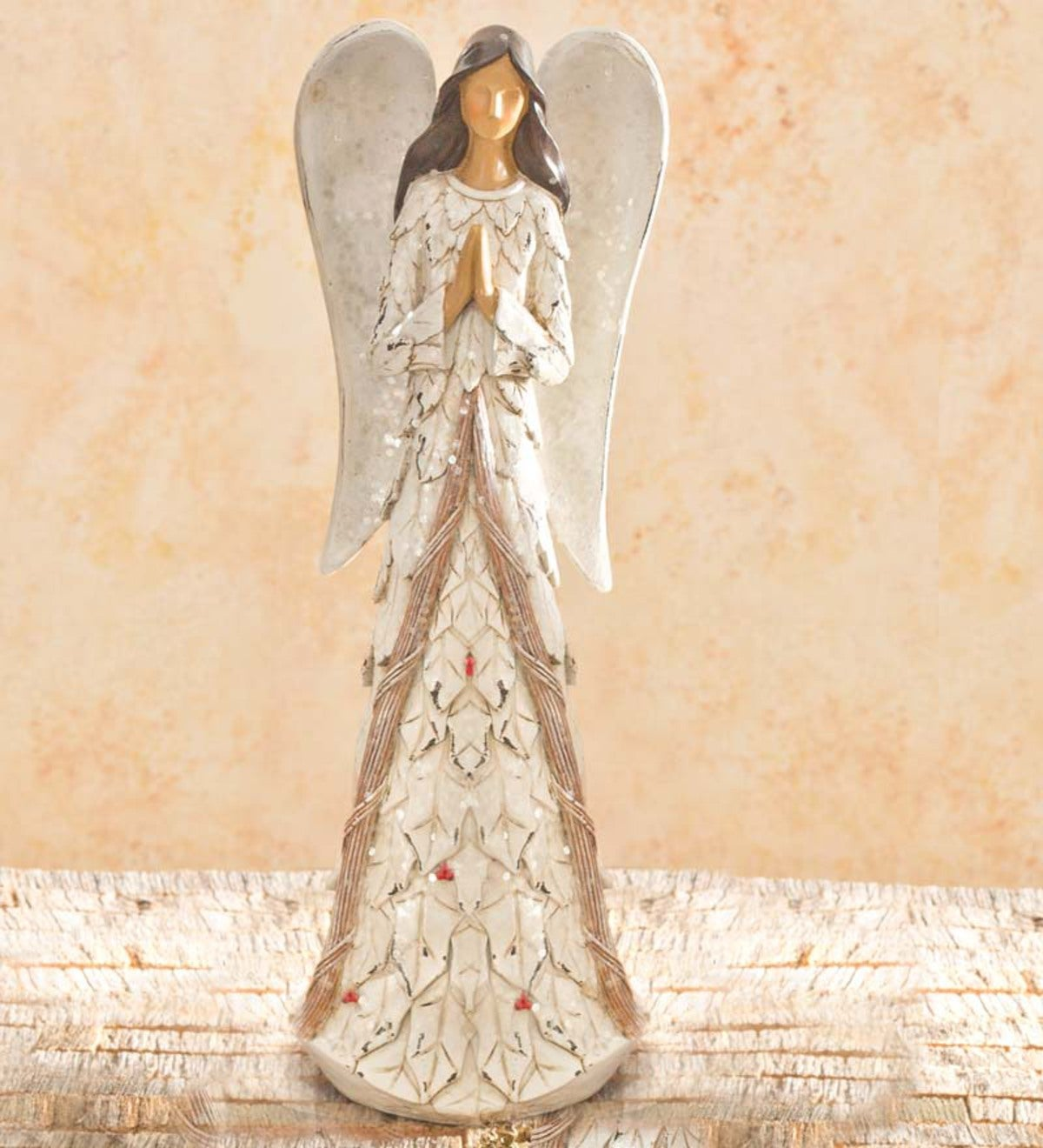 Holly Praying Angel Table Statue - Angel