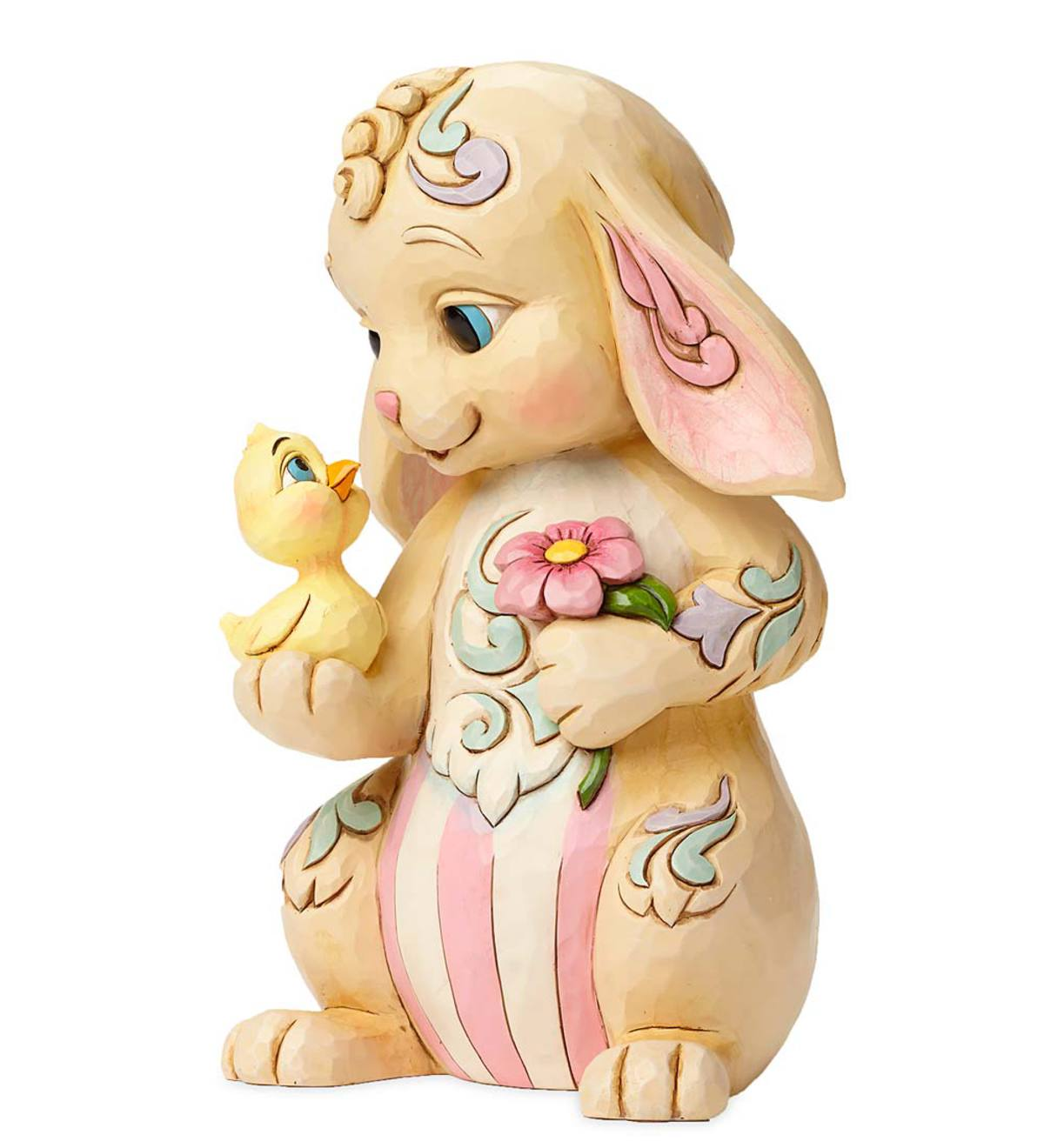 Jim Shore® Rabbit with Chick Figurine