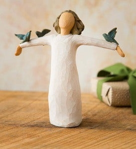Bluebird Happiness Willow Tree® Figurine