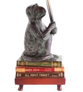 Well-Read Monkey Table Lamp