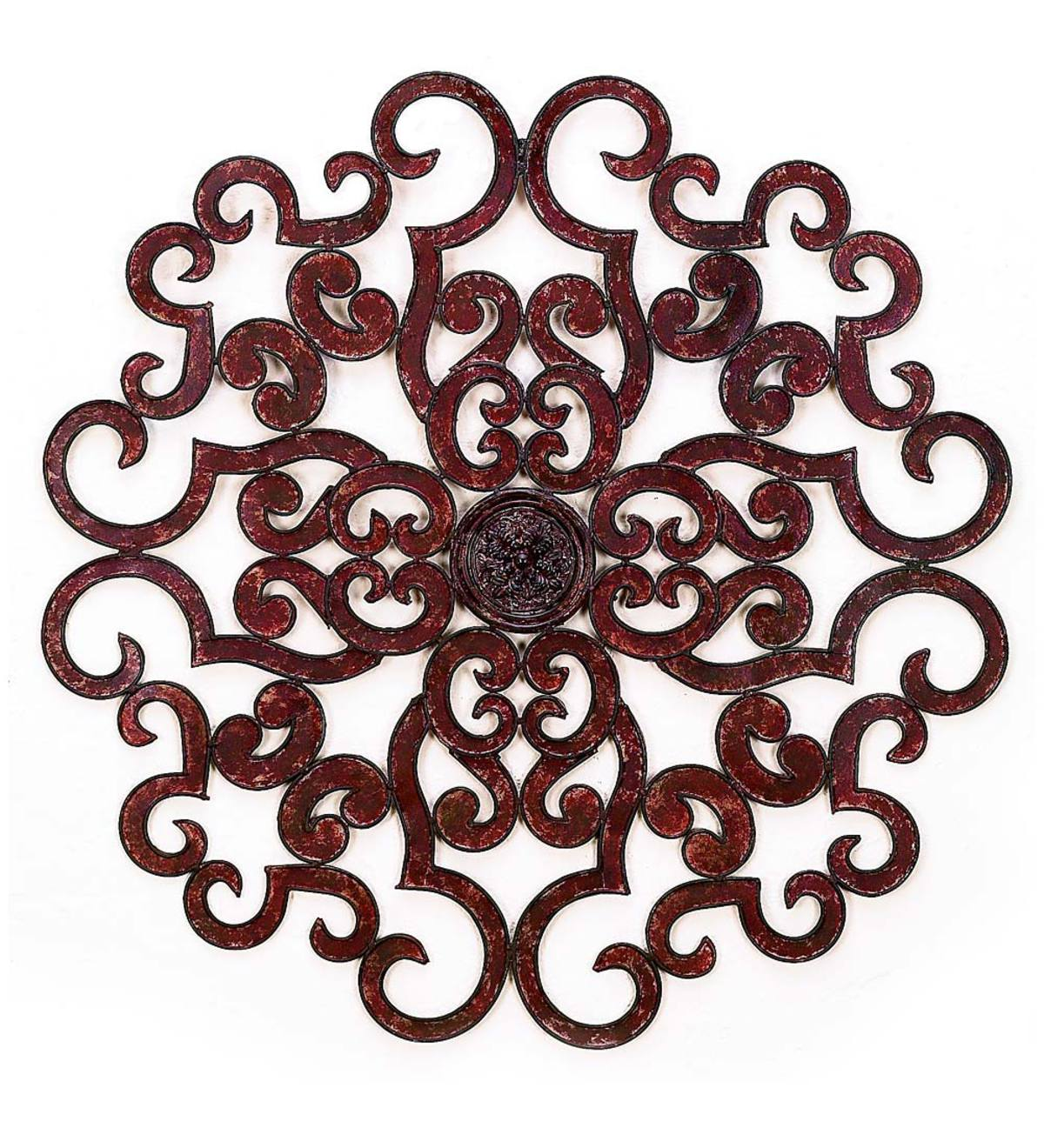Large Metal Wall Medallion