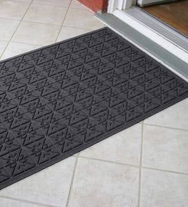 Waterhog™ Doormat with Star Quilt Pattern