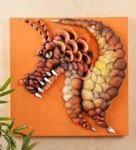 Seashell Dragon Wall Art