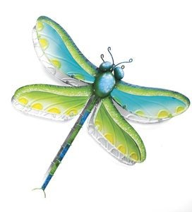 3-D Metal Butterfly Or Dragonfly Wall Art - Dragonfly