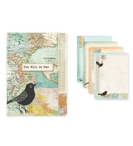 Whimsical Travel Journal - You Will Go Far
