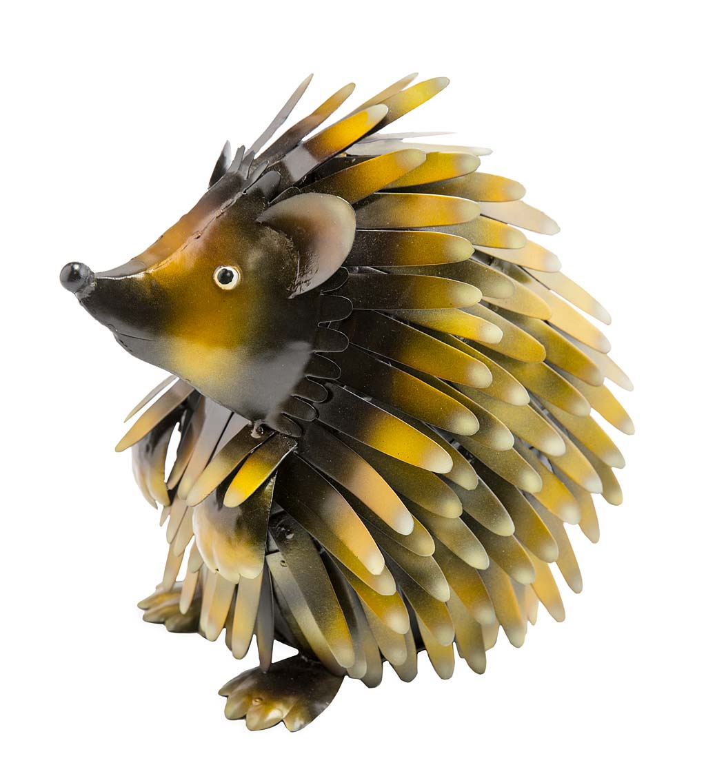 Handcrafted Metal Hedgehog
