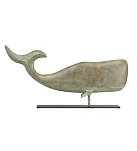 Whale Weather Vane Sculpture