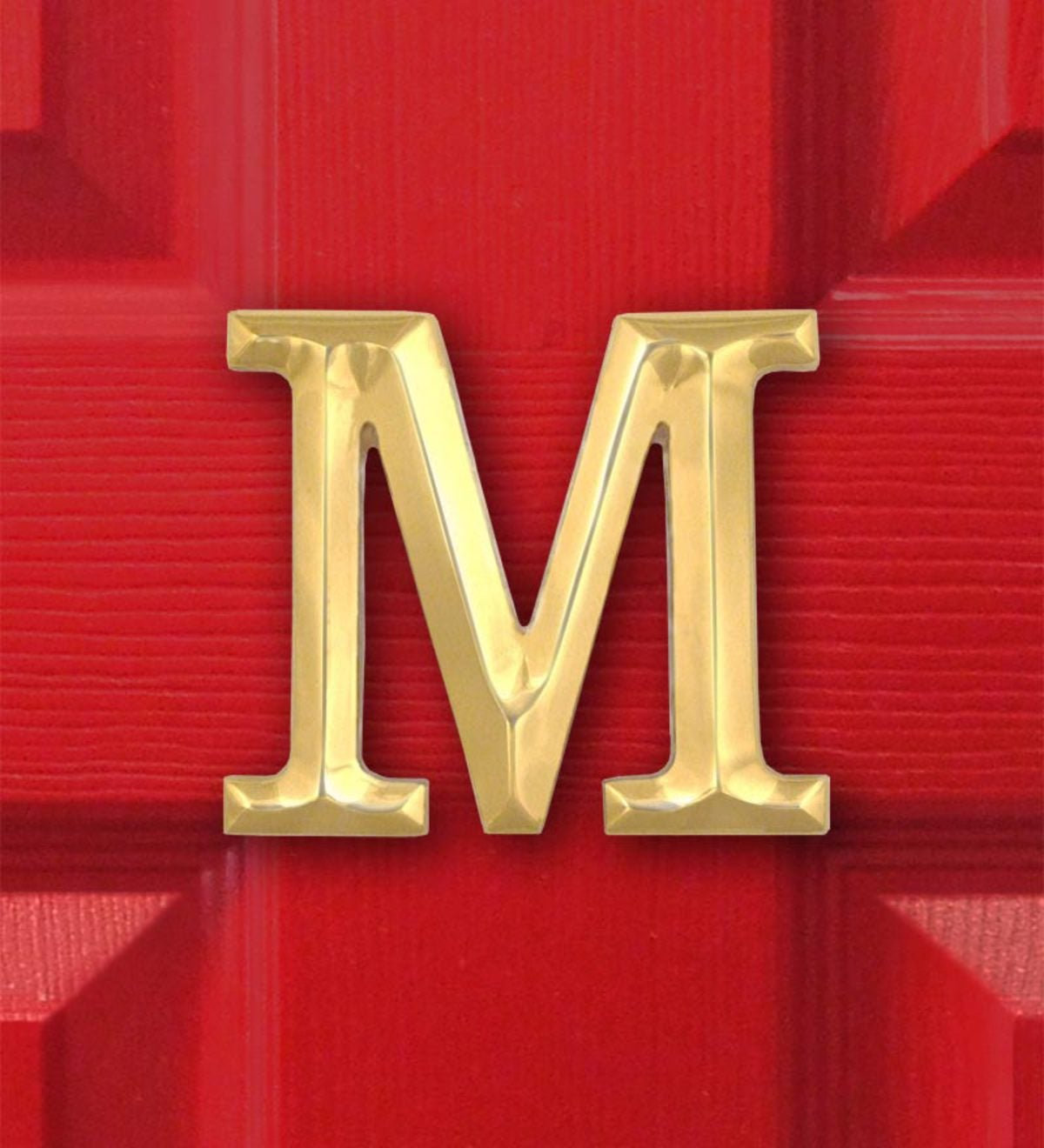 Michael Healy Monogram Doorknocker - Brass - Letter J