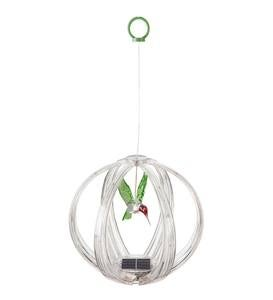 Solar Color Chasing Lighted Sphere Mobile - Cardinal