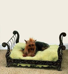 Iron Pet Sleigh Bed