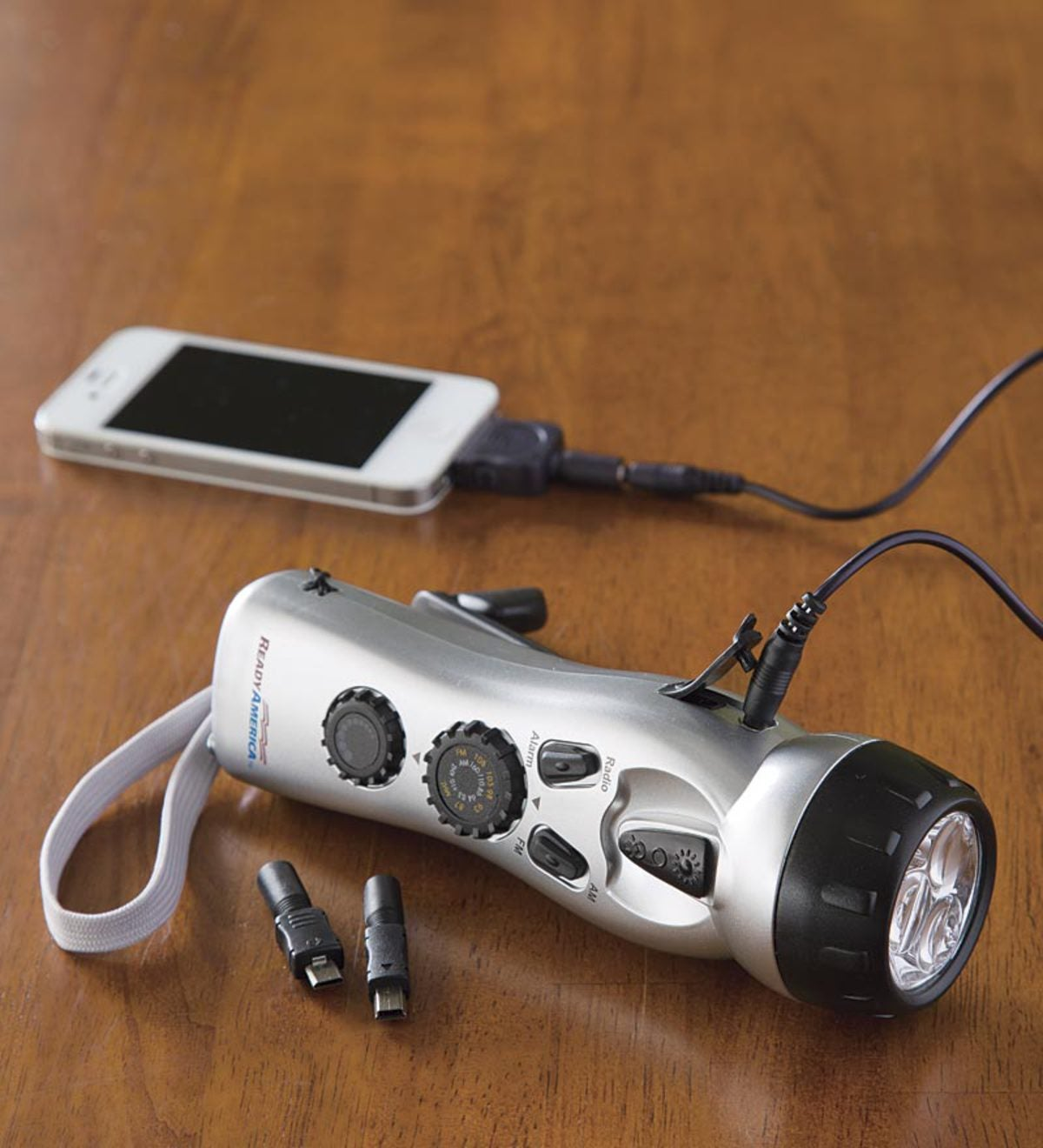 Hand-Crank Emergency Power Station with Light, Radio and USB Charging Port