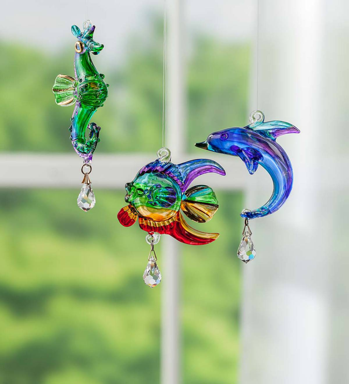 Glass Sea Life Ornament