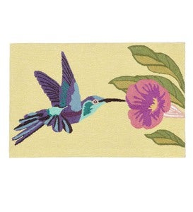 Hummingbird Indoor/Outdoor Rug, 24