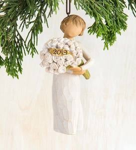 Willow Tree® 2019 Angel Ornament