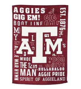 Double-Sided Fan Rules College Team Pride Sueded House Flag - Texas A&M