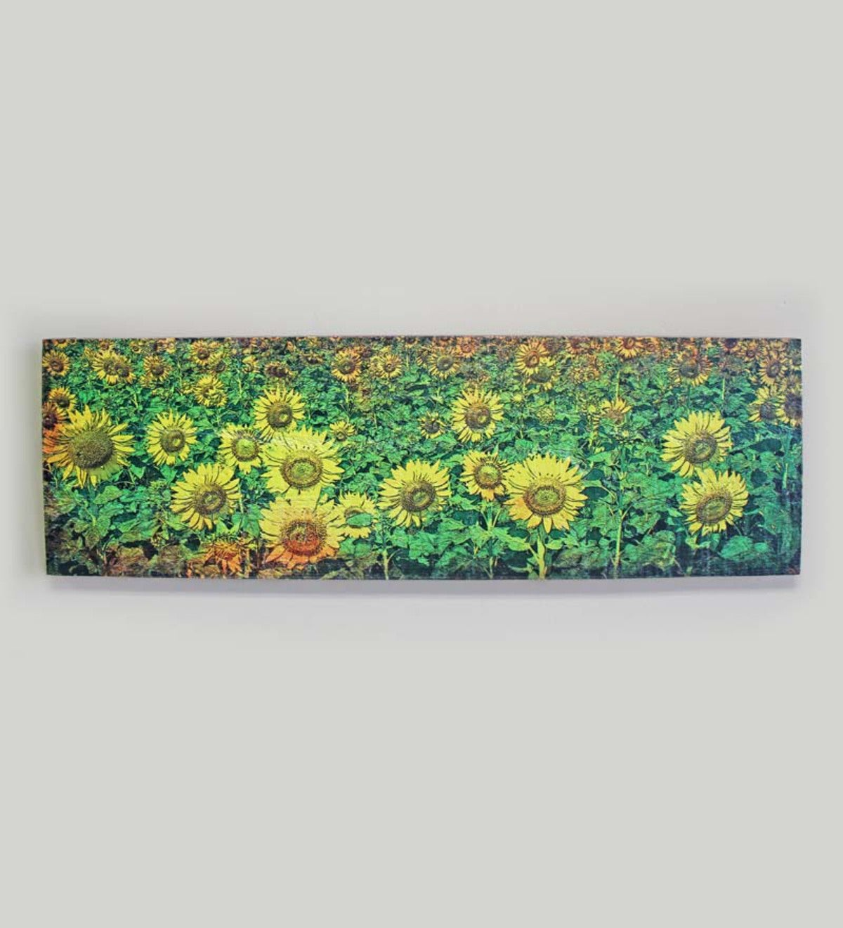 Field of Sunflowers Mill Wood Wall Art®