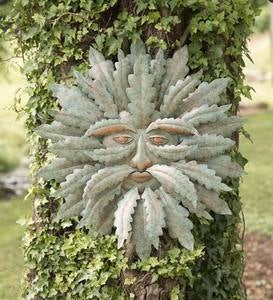 Metal Green Man Wall Art