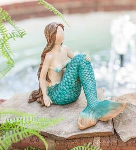 Indoor/Outdoor Mermaid Figurine