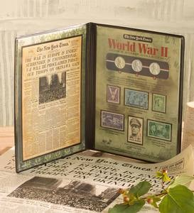 New York Times World War II Coin and Stamp Set