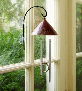 Solar Window Chime