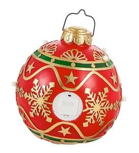 Large Lighted Red Indoor/Outdoor Decorative Ornament