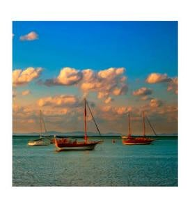 Calm Waters Outdoor Canvas Wall Art