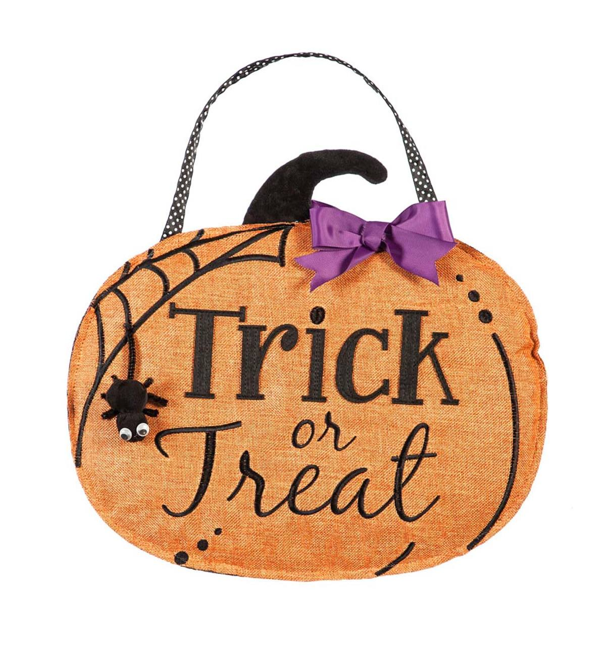 Trick-or-Treat Front&Back Door Décor