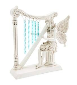 Angel with Harp Wind Chime