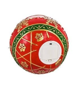 Lighted Indoor/Outdoor Decorative Ornament  - Red