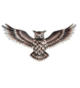 Metal Owl Wall Art Wind And Weather