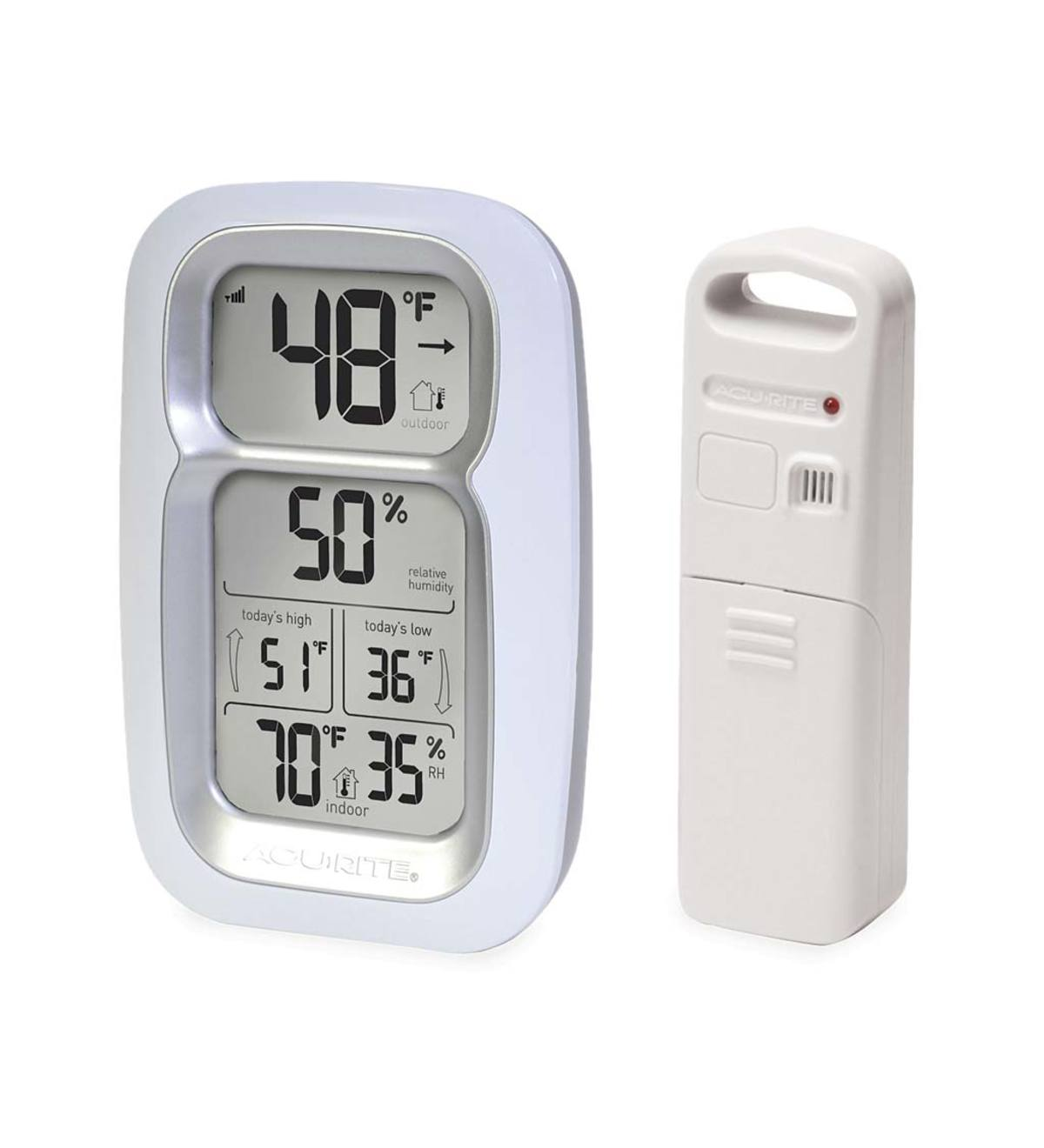 Digital Thermometer with Wireless Remote Sensor