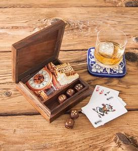 Dice and Cards Game Set