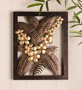 Banana Leaf Metal Wall Art