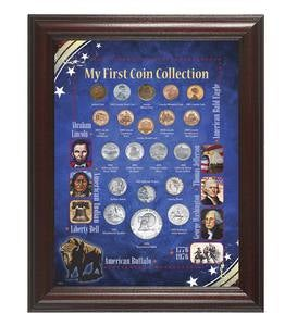 My First Coin Collection with Frame
