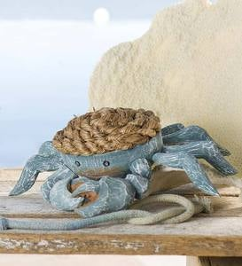 Wood and Rope Crab