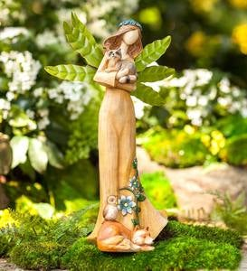 Indoor/Outdoor Woodland Angel Figurine