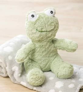 Cuddly Frog Stuffed Animal with Blanket Gift Set, Green